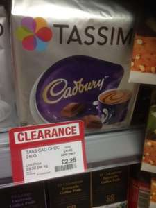 Tassimo - Cadburys Chocolate x 8 pods : Were £4.49 , now £2.25 @ Co-op