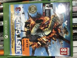 Just Cause 3 [XO] Preowned £4.99 @ Smyths instore