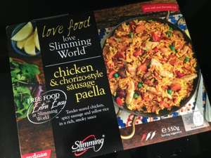 Iceland: Slimming World 6 Syn-Free Chorizo Style Sausages (360g) / Slimming World Sausage Casserole (500g) / Slimming World Sweet & Sour Chicken (450g) / Slimming World Chicken in Black Bean Sauce (500g) / Slimming World Aromatic Chicken Noodles (550