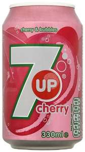 7 Up Cherry Can 330ml (Pack of 24) was £16.08 now £9.99 Prime / £14.74 Non Prime @ amazon.co.uk