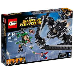 LEGO 76046 Super Heroes DC Comics Sky High Battle - £32.50 @ John Lewis (free C&C), with Batman, Superman and Wonder Woman minifigs