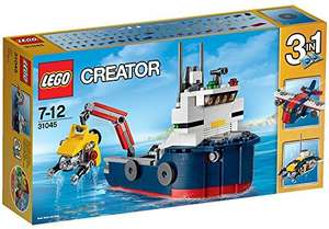 LEGO Creator 31045 Ocean Explorer Set £11.94 (Prime) / £15.93 (non Prime) at Amazon