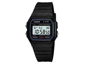 Casio F-91W-1YER Men's Resin Digital Watch £7.93 £ (Prime) / £11.92 (non Prime) at Amazon