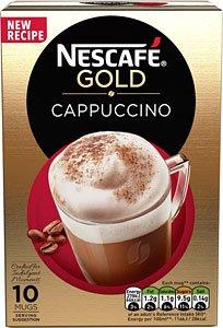 Nescafe Gold Cappuccino Sachets £1.25 (8 sachets) @ Tesco instore
