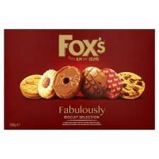 Fox's Fabulously Assortment Biscuits 300G half price £2 @ tesco from tomorrow until 30th may
