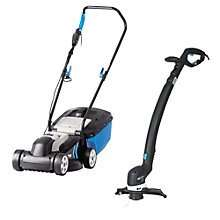 Mac Allister 1200w lawnmower and 300w grass trimmer / strimmer set now £60 with free home delivery or C&C @ B&Q