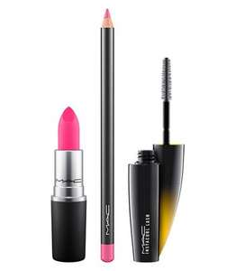 Mac eye & lip kits with 3 full size products worth £49 now £29 with free sample & free delivery @ Mac