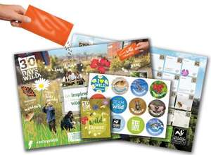 Free 30 days wild pack from Wildlife Trusts