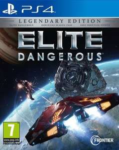 Elite Dangerous PS4 Legendary Edition Pre-Order £36.85 - Shopto