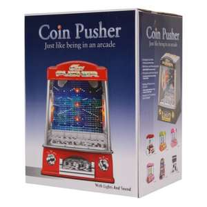 Novelty Fairground Coin Pusher Arcade Game £17.99 Delivered @ savechannel / eBay