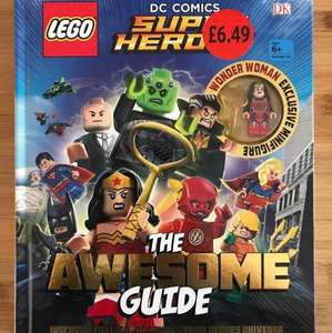 DK Lego DC Super Heroes The Awesome Guide - £6.49 instore @ Sainsbury's