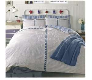 Dreamscene Jingle All The Way Duvet Cover with Pillowcase Bedding Set, Blue, Double £5.67 prime / £10.42 non prime @ Amazon