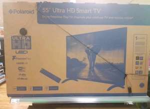 "Polaroid Smart 55"" Ultra HD TV £325 @ Asda instore"