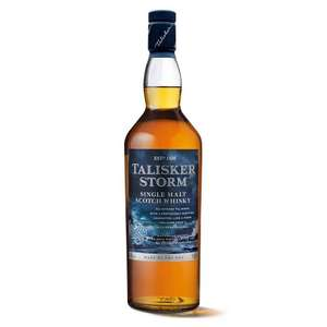 Talisker Storm 70cl £30.40 - Amazon
