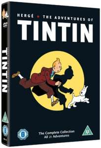 The Adventures Of Tintin (DVD, 5-Disc Set) £1.00 in store @ Poundland