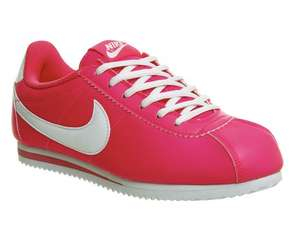 Nike Cortez Hyper Pink Sizes UK 4, 4.5, 5, 5.5, was £47.99 NOW £18.00 Free Click & Collect @ Office
