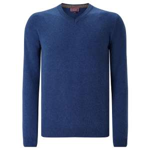 Half price Men's 100% cashmere sweaters in various colours  £42.50 at John Lewis - Free c&c