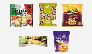 Coop Frozen £5 meal deal. Pizza, wedges, onion rings, garlic bread, Cadburys ice cream. starts tomorrow (10th)