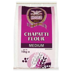 Heera Gold Chapatti Flour Medium 10Kg 2 for £5 @ Morrisons