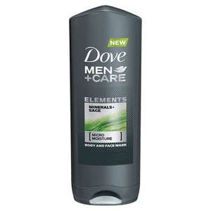 Superdrug:Dove Men + Care Shower Minerals and Sage 400ml less than half price £1.88 + triple points (Free C&C or £3 del > £10 orders)