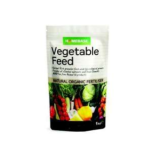 Homebase Own Brand 1kg Vegatable Plant Food Organic & Animal Bi-product Free - £1.22 instore @ Homebase