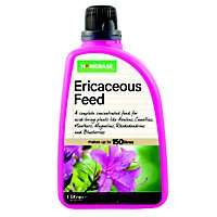 Homebase Ericaeceous liquid plant food - diluatable - 72p instore @ Homebase
