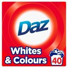Daz 40 washes 2.6kg - £4.00 at Tesco