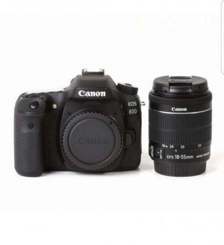 Canon EOS 80D 24.2MP Digital SLR Camera Black + Kit EF-S 18-55mm Lens For only £865 on ebay / matteoandcompany