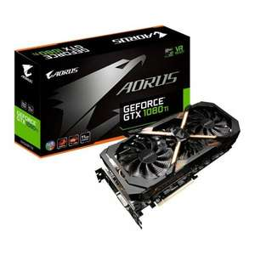 Gigabyte Nvidia GTX 1080 Ti AORUS 11GB Graphics Card £669.99 @ Ebuyer & Amazon (Price Match)