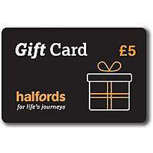 Free £5 Gift Card when you buy a £50 Gift card online @ Halfords