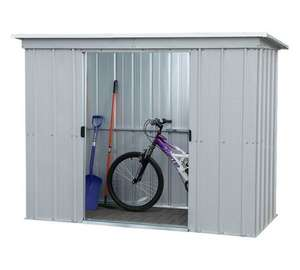 Yardmaster 10 x 4 pent metal shed extra 20% off down to £159.99 argos