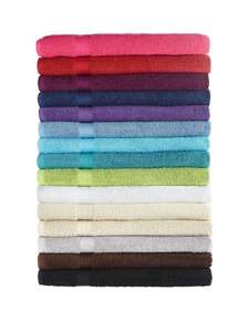 Plain Dye Jumbo Bath Sheet (Was £10.00) Now £5.00 + Free Click & Collect at Very (more links in post)