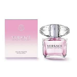 Versace Bright Crystal Eau de Toilette Spray 30ml Was £39 NOW £21 (Free C+C, Free Delivery, Extra 10% off until Monday with Beauty card) @ Superdrug
