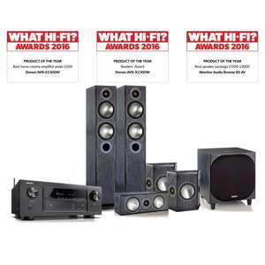 Denon AVRX2300 plus Monitor Audio Bronze 5 5.1 Bundle In Store £1299 @ Richer Sounds