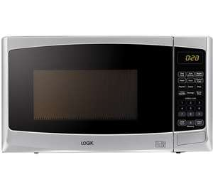 Logik 20 litre 800w digital microwave with 11 power settings and 6 programmes was £99.99 now £44.99 delivered @ Currys