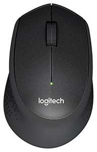 Logitech M330 Silent Plus Wireless Mouse (USB for Windows/Mac/Chrome OS/Linux) - Black - £19.99 (Prime / £23.98 non Prime) @ Amazon