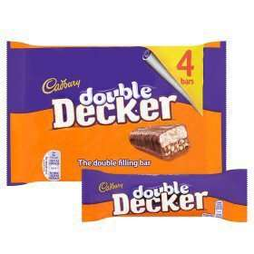 Double Decker chocolate Bar 4x55g pack 2 for £1.50 @ Asda instore
