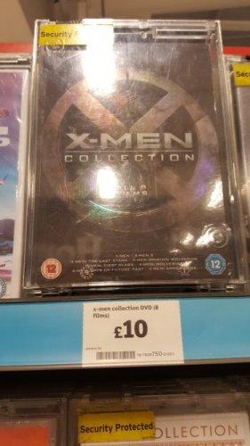X-Men 8 Film Collection DVD Set Sainsburys £10 instore