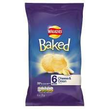 Walkers baked crisps 6 pack 90p @ Tesco
