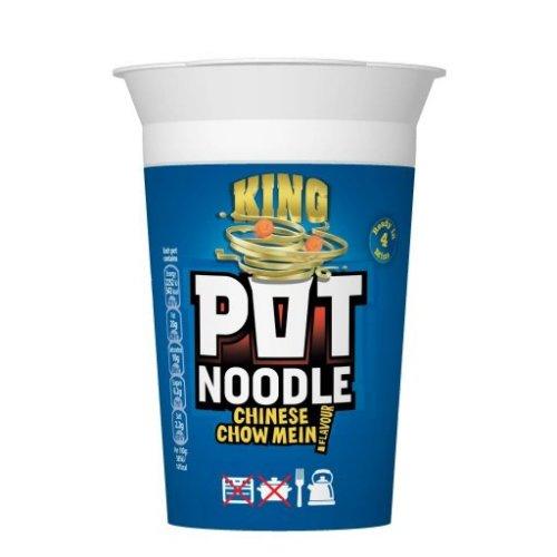 Chow Mein King Pot Noodle (114g) 10p @ B&M