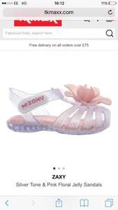 Baby Girl zaxy shoes £12.99 selling in stores still £25! Bargain! @ Tk Maxx (£1.99 c&c)