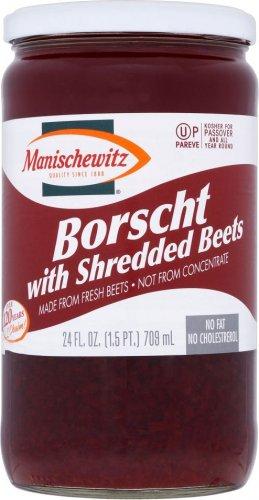 Manischewitz Borscht with Shredded Beets (709ml) ONLY 10p @ Sainsbury's