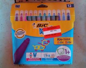 Bic Kids washable pens, suitable from 12 months £2.25 @ Asda - Leamington Spa