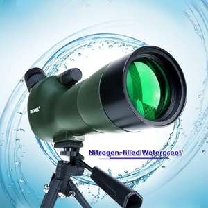 USCAMEL® Bird Watching Waterproof Spotting Scope - 20-60x60 Zoom Monocular Telescope - With Tripod £69.99 -  Sold by USCAMEL and Fulfilled by Amazon - Lightening deal