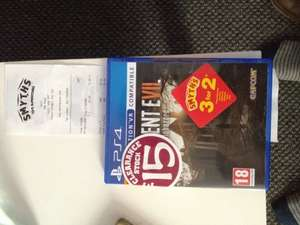 used Resident Evil 7 clearance £15 also in 3 for 2 @ Smyths instore