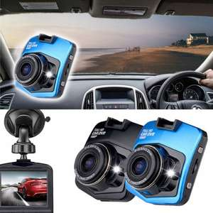 Full HD 1080p Car DVR Dash Accident Camera with Night Vision from £14.99 (Up to 75% Off) + £1.99 del @ Groupon