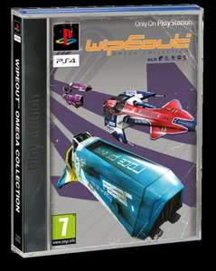 Wipeout Omega Collection with Classic PS1 Styled Sleeve cover and Theme - £26.86 @ ShopTo