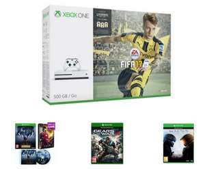 Xbox One S 500GB Bundle with FIFA 17, Prey inc. Steelbook & Soundtrack, Gears of War 4 and Halo 5 £249.99 Free Delivery @ Game
