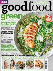 5 editions of BBC Good Food magazine for £5.00 - TCB cashback £2.62 on top