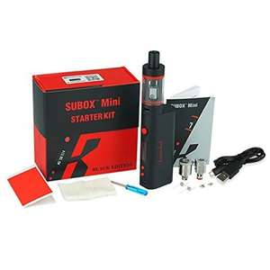 KangerTech Edition Black Subox Mini Starter Kit - £20 @ Sold by Official KangerTech and Fulfilled by Amazon